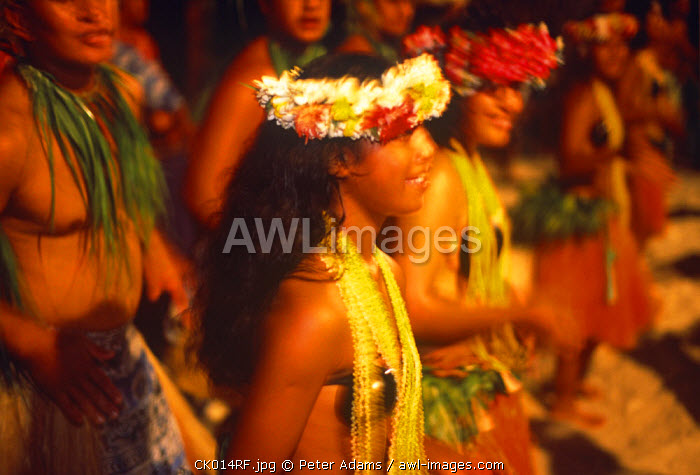 Dancers, Raratonga, Cook Islands
