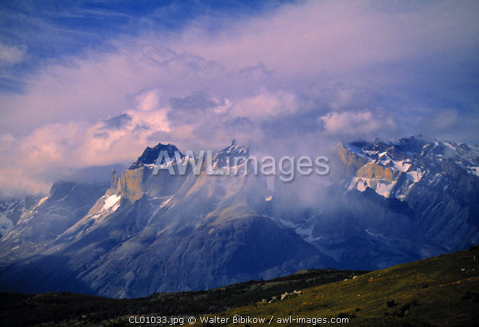 Torres del Paine Mountains, Magellanes, Chile