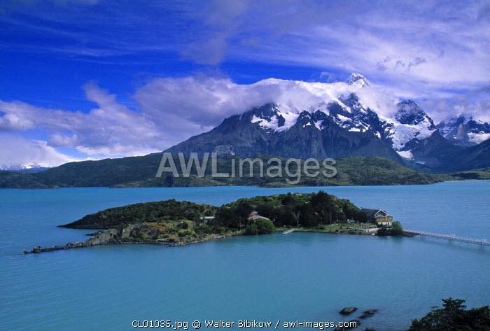 Lago Pehoe, Torres del Paine, Magellanes, Chile