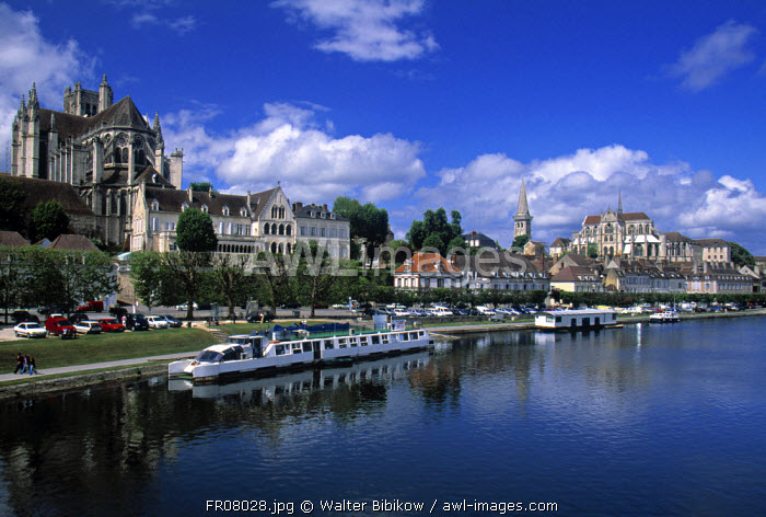 Auxerre, Yonne, Burgundy, France