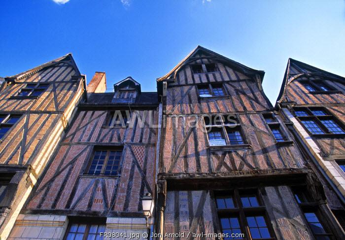 Old Town, Tours, Loire, France