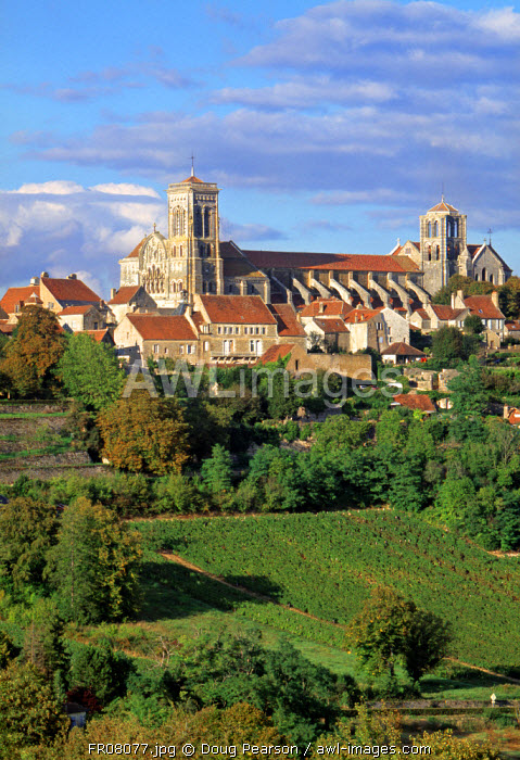 Vezelay, Chablis, Burgundy, France