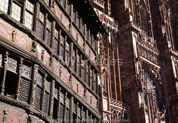 Maison Kammerzell, Strasbourg, Alsace, France