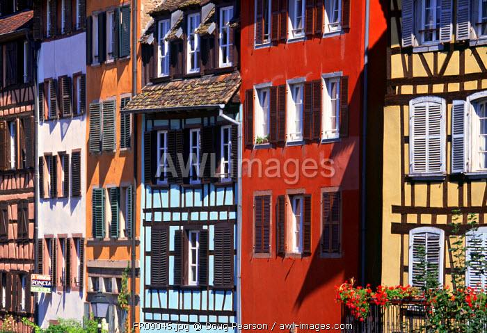 Petite France, Strasbourg, Alsace, France