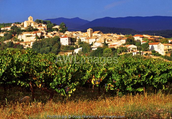 Vinsobres, Cote du Rhone, Drome, Rhone-Alpes, France