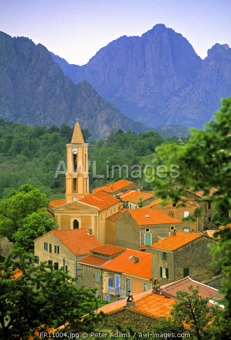 Evisa, Corsica, France