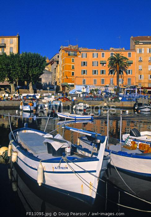 Tino Rossi Harbour, Ajaccio, Corsica, France