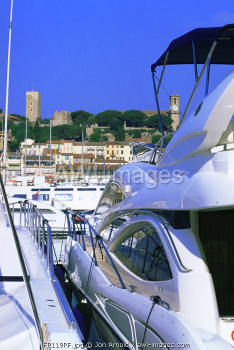 Vieux Port, Cannes, Cote D'Azur, France