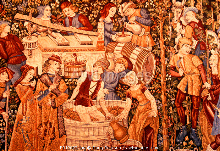 Arras Tapestry (copy), Reims, Champagne, France