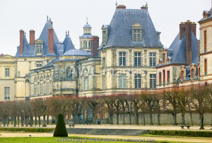 Chateau de Fontainebleau, Seine et Marne, France
