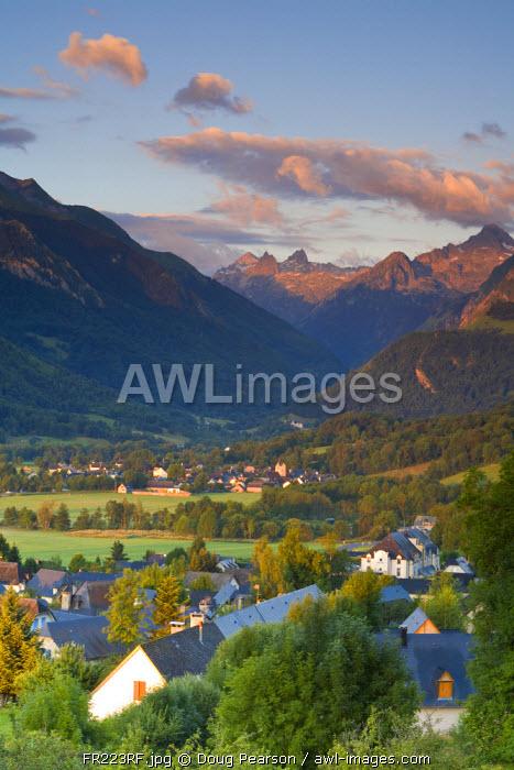 Village d'Aucun & Arrens-Marsous, Hautes- Pyrenees, France