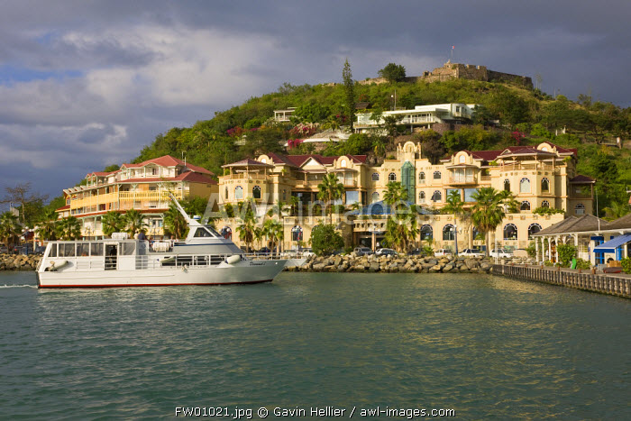 Caribbean, French West Indies, Saint Martin, Marigot