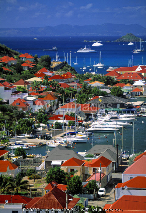 Harbour, Gustavia, St. Barts, French West Indes