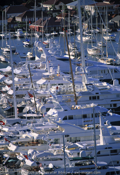 Yacht Harbour, Gustavia, St. Barts, French West Indes