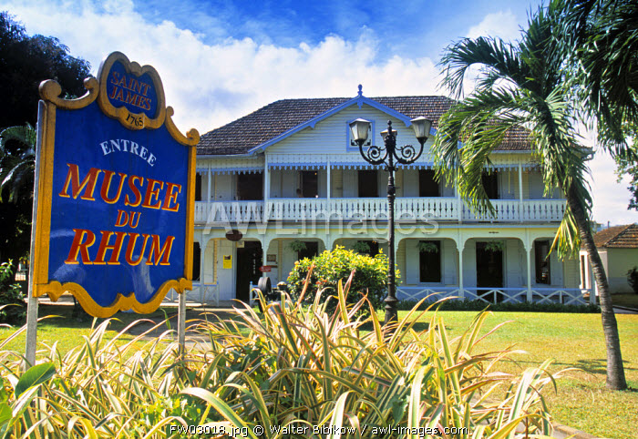 St. James Rum Museum, Martinique, French West Indies