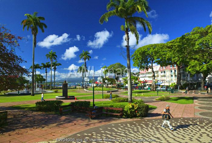 Place de la Victoire, Pointe A Pitre, Grande Terre, Guadeloupe, French West Indies