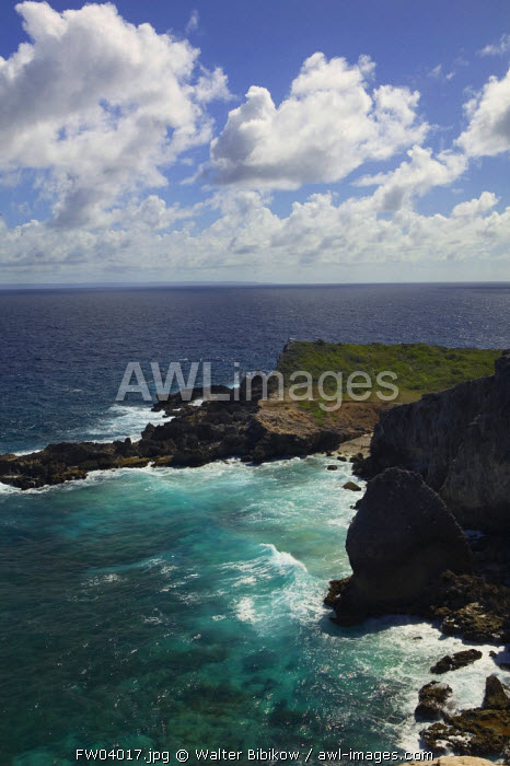 Pointe des Chateaux, Grande Terre, Guadeloupe, French West Indies