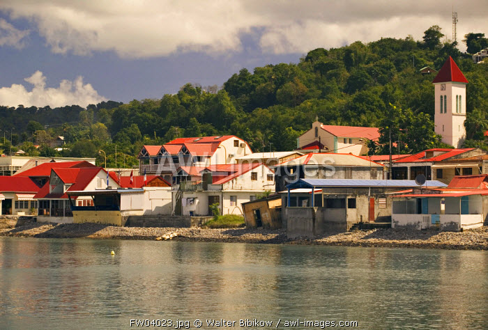 Deshaies harbour, Basse Terre, Guadeloupe, French West Indies