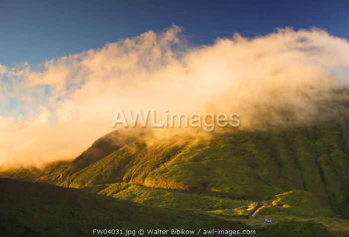 La Soufriere Volcano, Basse Terre, Guadeloupe, French West Indies