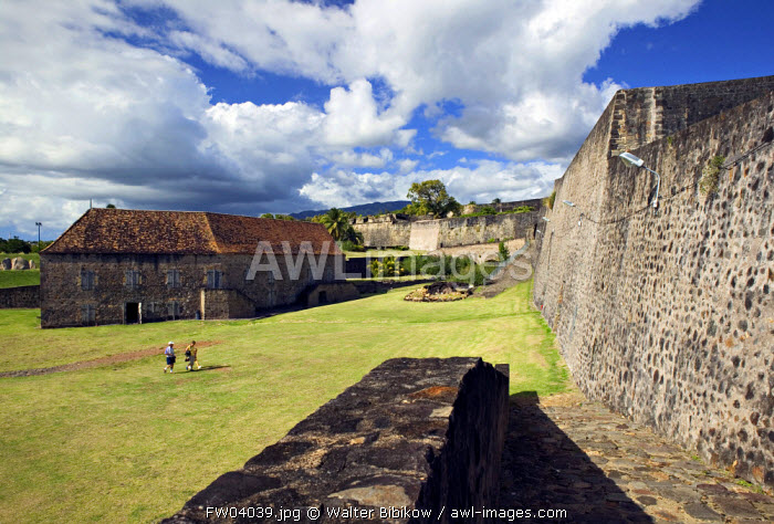 Fort Louis Delgres, Basse Terre town, Basse Terre, Guadeloupe, French West Indies