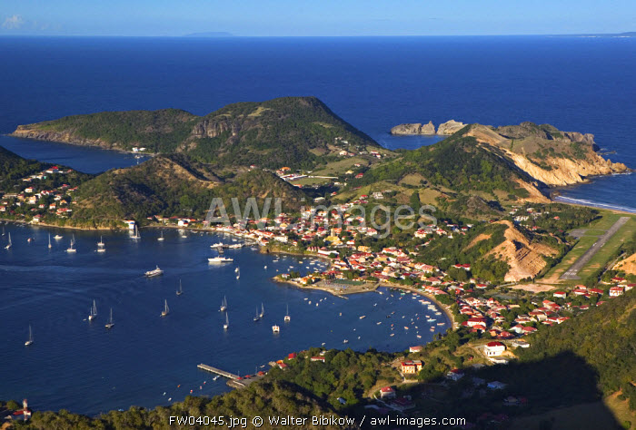 Bourg des Saintes, Terre de Haut, Les Sainte Islands, Guadeloupe, French West Indies