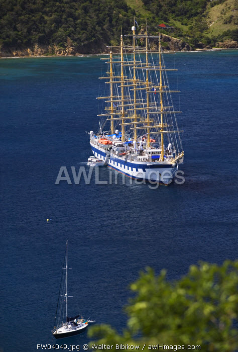 awl-images.com - French West Indies / Bourg des Saintes, Terre de Haut, Les Sainte Islands, Guadeloupe, French West Indies