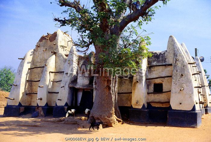 Mosque, Larabanga, Ghana