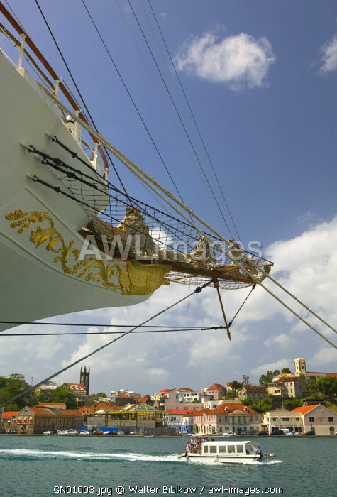 St. George's Harbour, Grenada, Caribbean