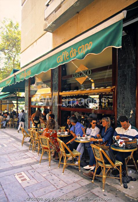 Cafe, Kolonaki, Athens, Greece