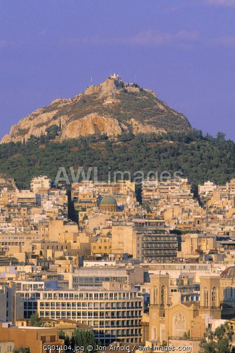 Lycavittos Hill, Athens, Greece