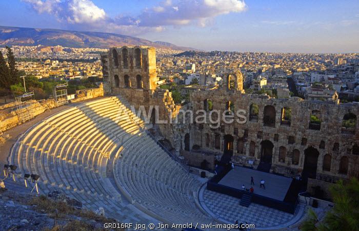 Odeion of Herod Atticus, Acropolis, Athens, Greece