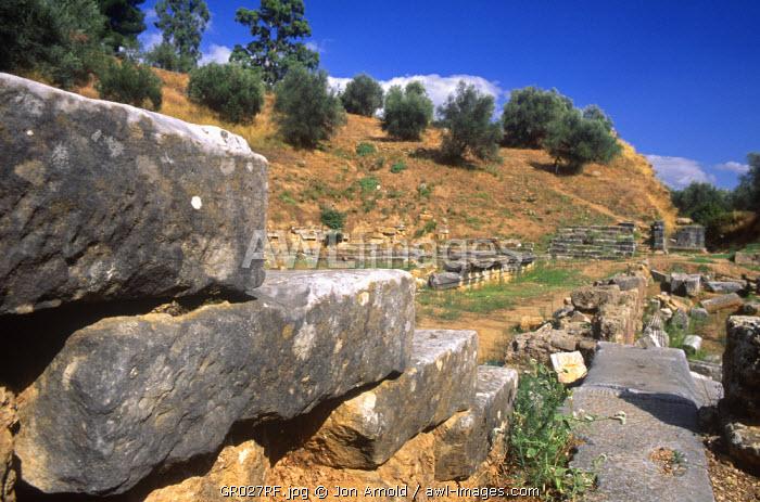 Roman Theatre, Sparta, Peloponnese, Greece