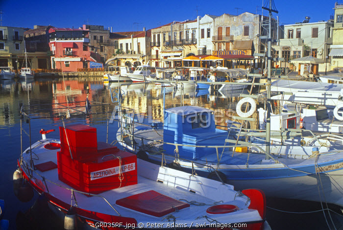 Rethminon (Rethymnon), Crete, Greece