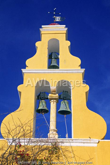 Bell Tower, Paleokastritsa Monastery, Corfu, Greece
