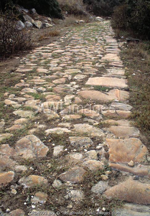 Via Egnatia, Kavala, Greece