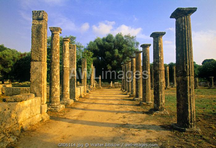 Palestra, Olympia, Peloponnese, Greece