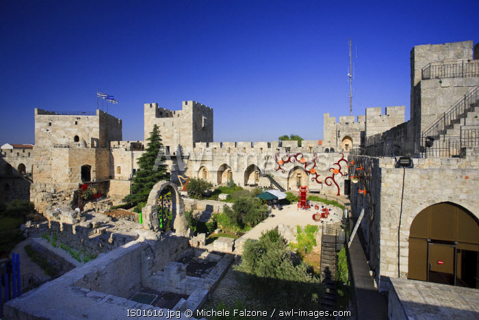 awl-images.com - Israel / Old town Citadel and tower of David, Jerusalem, Israel