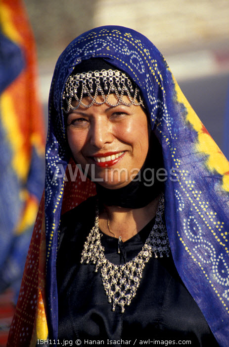 awl-images.com - Israel / Yemenite Folk dancer, Israel