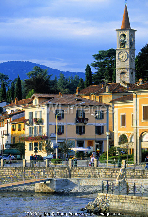 awl-images.com - Italy / Luino, Lago Maggiore, Lombardy, Italy