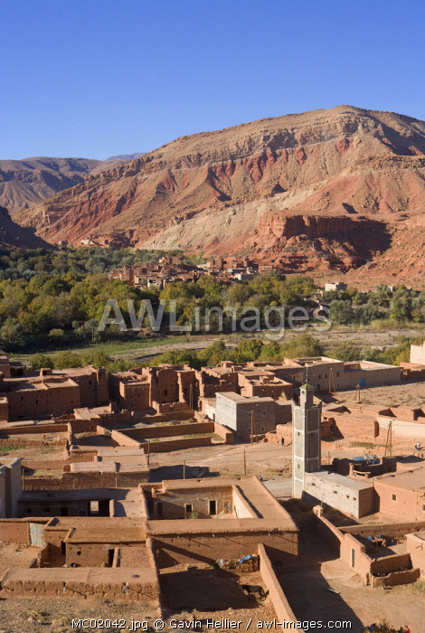 awl-images.com - Morocco / Dades Valley and the Gorges, Atlas Mountains, Morocco