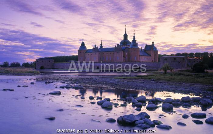 Kalmar Slott castle, Kalmer, Smaland, Sweden