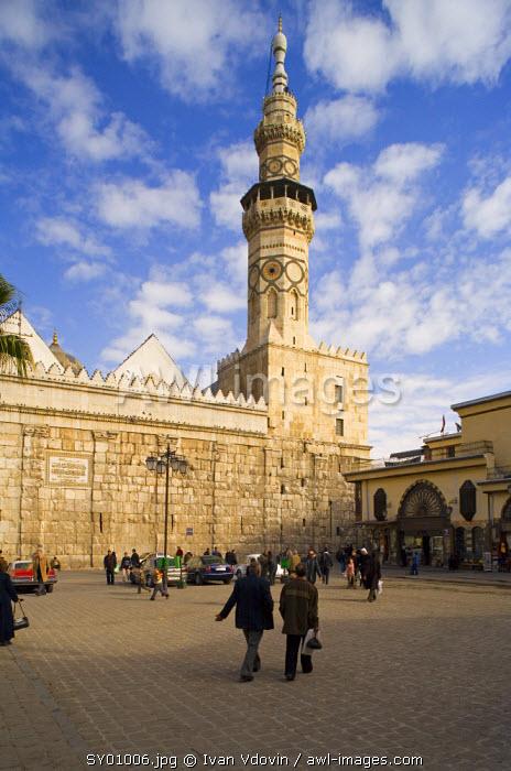 Umayyad mosque (708-715), Damascus, Syria