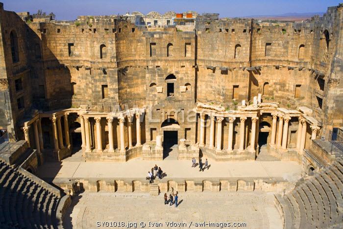 Roman theatre, Bosra, Syria