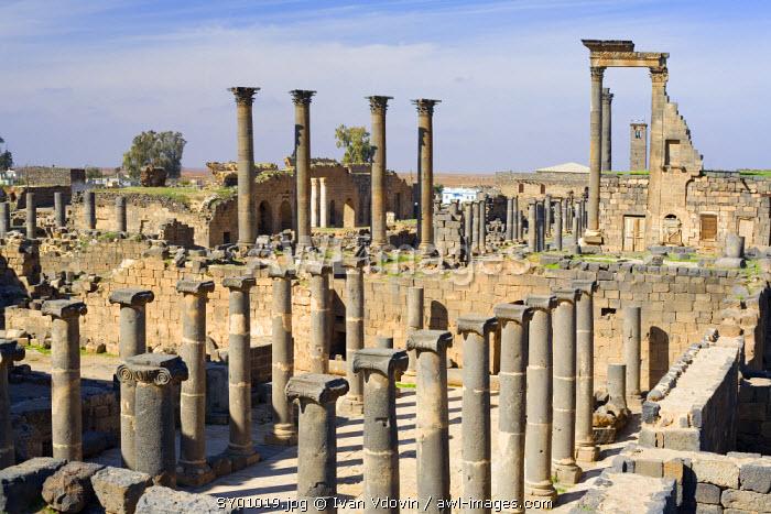 Roman ruins, Bosra, Syria
