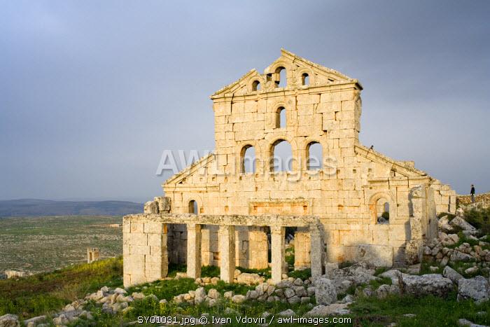 Byzantine church, Baqirha, Syria