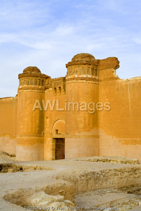 Palace of Umayyad Khalif Hisham,Qasr al-Heir ash-Sharqi, Syria