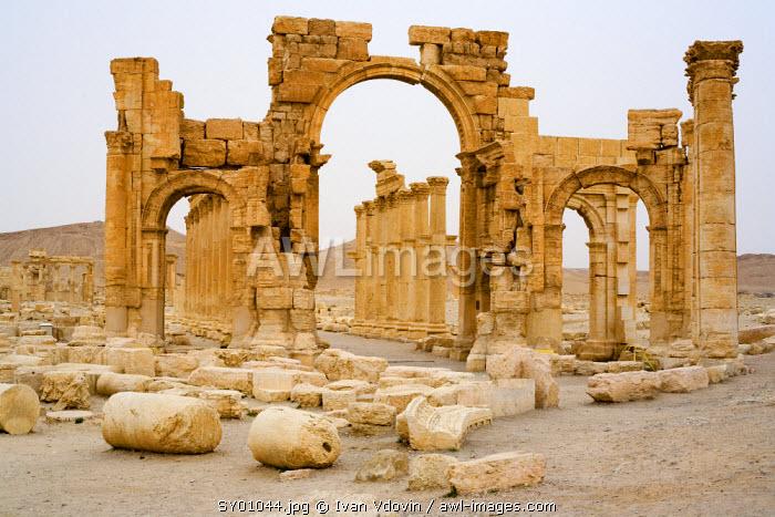 Triumphal Gate, Palmyra, Syria