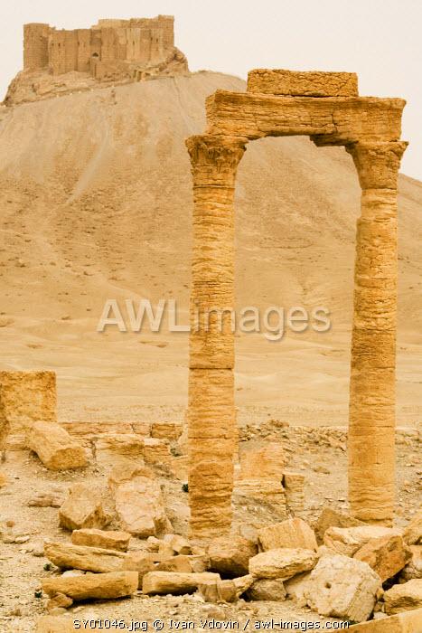 Qalaat Ibn Maan castle and Palmyra, Syria