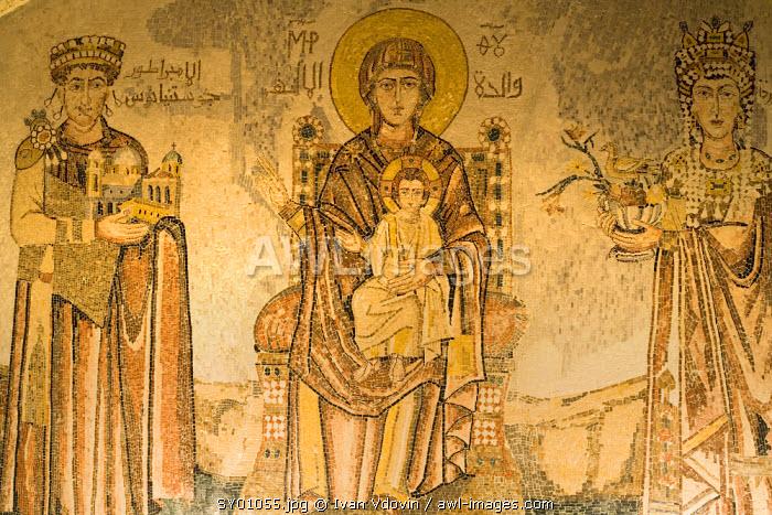 Mosaics, Seidnaya, Syria