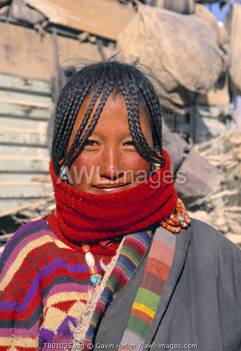 Tibetan Girl, Tibet